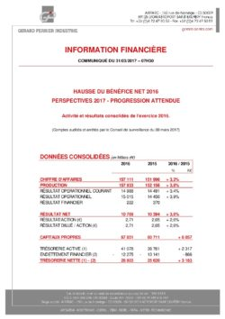 gpi avis financier